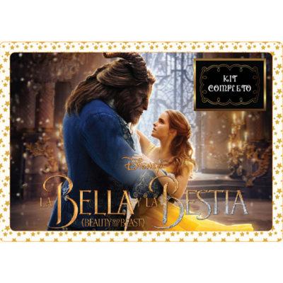 La Bella y la Bestia - Edición Dorada y Negra