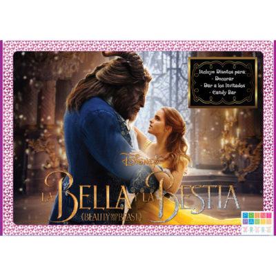 La Bella y la Bestia - Edición Lila